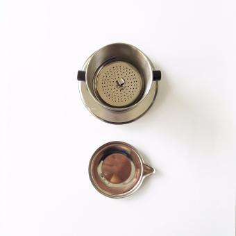 Tantiendat Stainless Steel Vietnamese Coffee Phin Drip #8 - 2