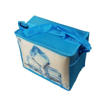 Taobao 8L New Cooler Ice Boxes Insulated Lunch Bag CollapsiblePicnic Cooler (Blue)