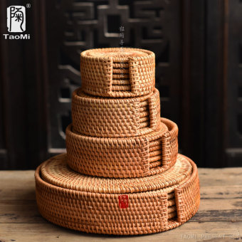 TAOMI clay pot mat iron pot handmade cup mat coasters