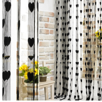 Tassel Line String Drape Curtain for Wall Door Window VestibuleHome Decor Divider 1m x 2m Black Price Philippines