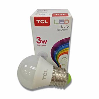 TCL 3W Daylight EcoSeries Bulb Set of 3 with FREE 2 Bulb - 3