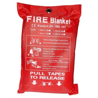 TFE Emergency Fire Blanket Kit 1.8m x 1.8m - picture 2