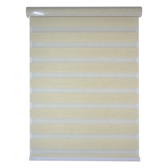 The Blinds Store Nathalie Design Combi Shades (36x50/Linen Ivory) Price Philippines