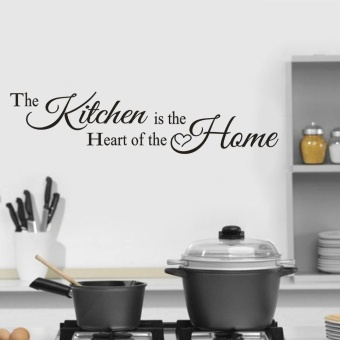 The Kitchen Home Decor Wall Sticker Decal Bedroom Vinyl Art Mural -intl