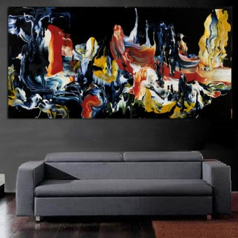 The most famous living room painting Abstract Art wall painting forhome decor ideas print on canvas oil painting No Framed