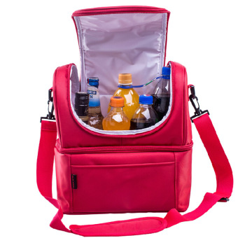 Thermal Cooler Insulated Lunch Bag Picnic Bag Cross-Body Bag - intl