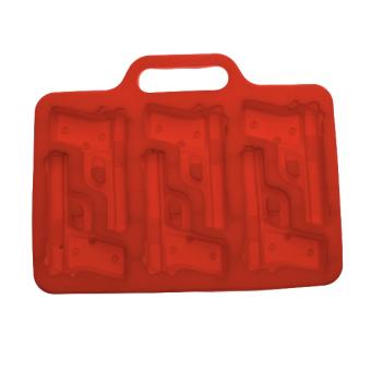 Thermo Plastic Rubber Ice Cube Mold Tray Maker - Random color