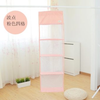 Three-dimensional multi-layer wardrobe cabinet bag storage hanging bag