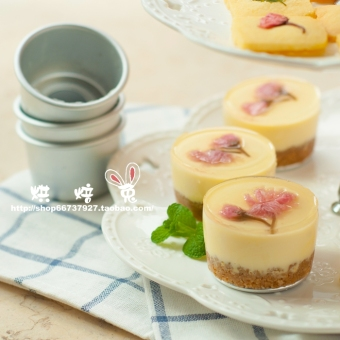 Tiramisu round mini cake bottom mousse Mold