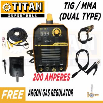 Titan Supertools DUAL ARC DC Inverter TIG / MMA Welding Machine200A (Dual Type) Heavy Duty