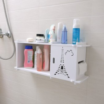 Toilet bathroom washed Taiwan wall suction cup rack wall hangers glove rack
