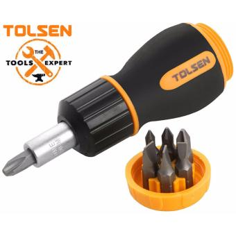 Tolsen 7 in 1 Ratchet Screw driver