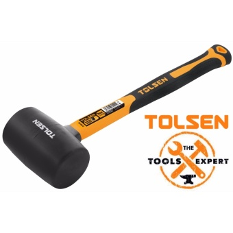 Tolsen Rubber Mallet Fiberglass Handle (32oz)