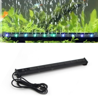 TOMSOO 1pc Color Changing LED Air Bubble Light UnderwaterSubmersible Aquarium Fish Tank (XL-P35) - intl