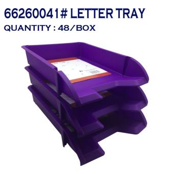 TOP STANDARD AMERICAN CHOICE LETTER TRAY violet 662600416 ( 4 piece )