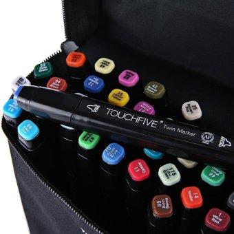 Touch Five Colors Graphic Art Twin Tip Marker Pen Multicolor 30pcs- intl - 4
