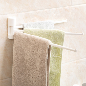 Towel rack viscose towel hanging wall hangers
