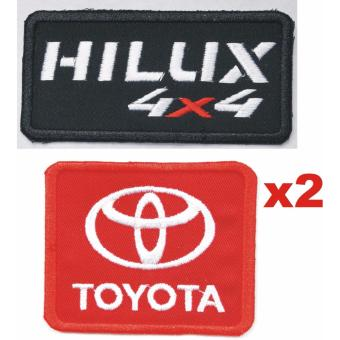 Toyota Hi-Lux Hilux Truck Cloth Patch Set (Get 2)
