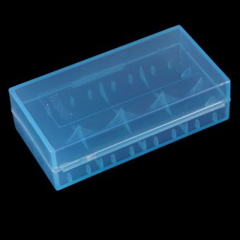 Transparent Hard Plastic Case Holder Storage Box For Battery 18650 CR123A 16340