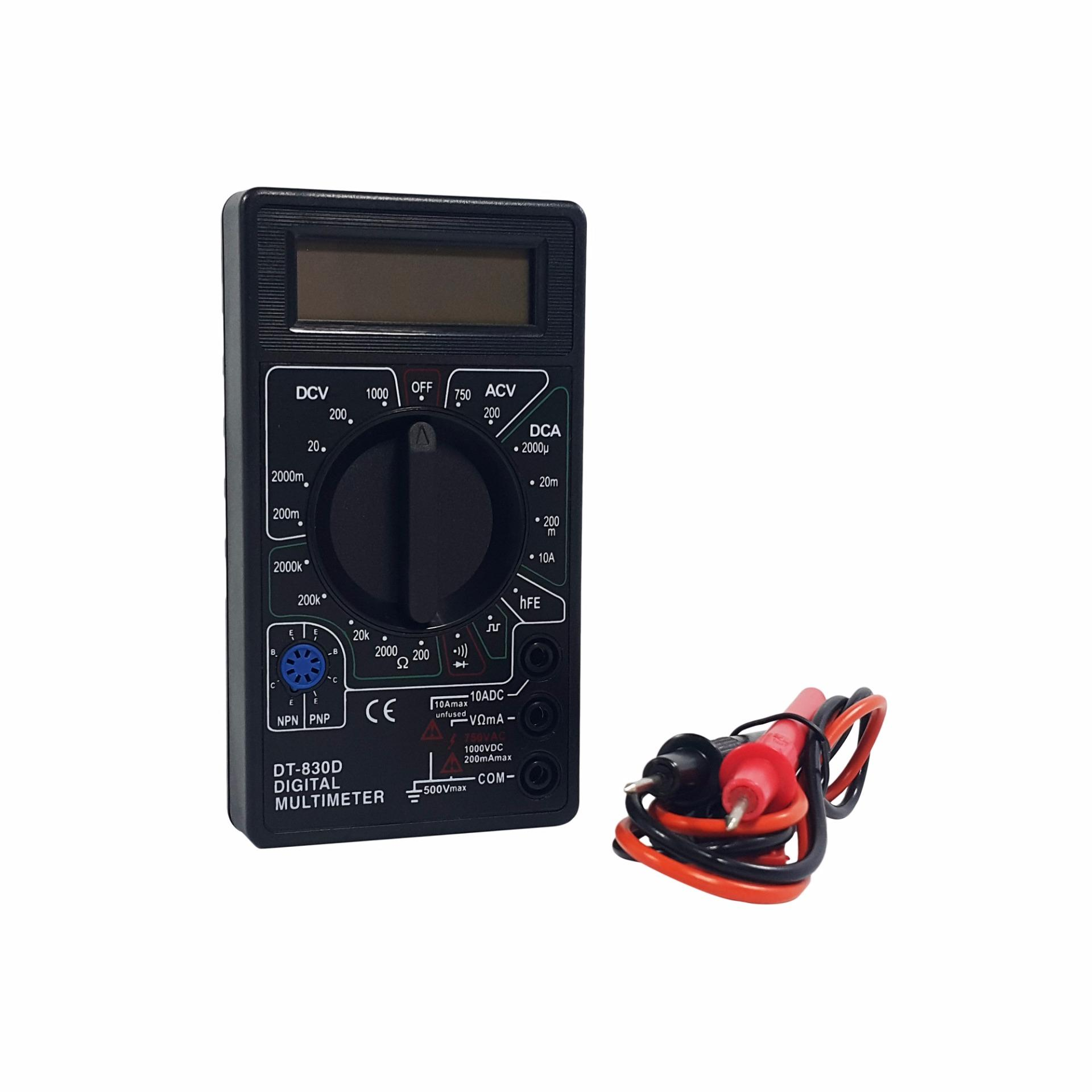 Philippines Trendsetter 830 Ac Dc Lcd Digital Multimeter Voltmeter Ammeter Circuit Voltage Ohm Tester