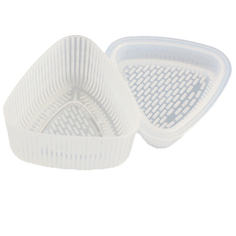 Triangle Sushi Mold Rice Ball Maker Press Mold 2-piece Set of 2