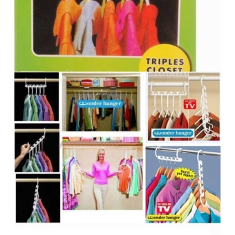 Triple Closet Space Wonder Hanger 8 Pack Price Philippines
