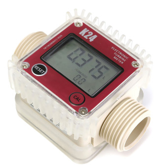 Turbine Digital Diesel Fuel Flow Meter For K24 Chemicals Water10-120L/Min ??1% - intl Price Philippines