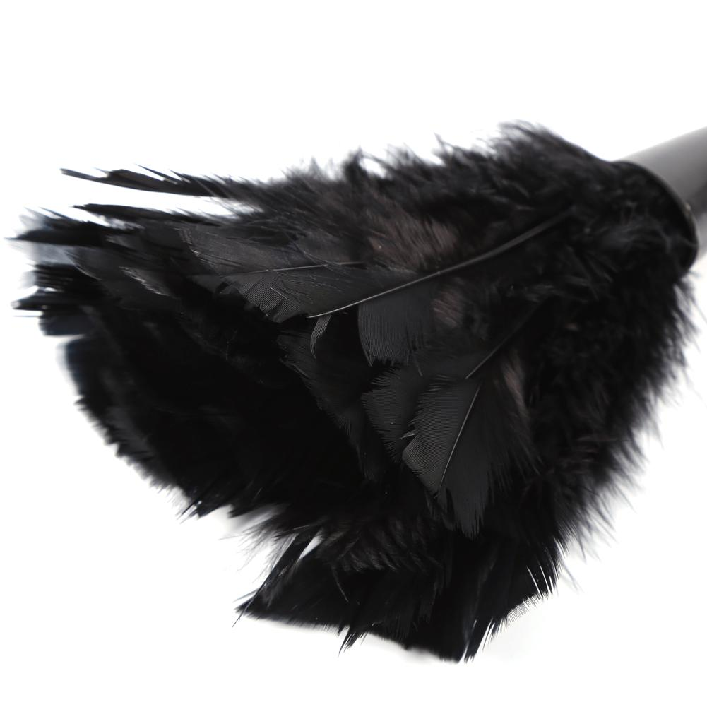 furniture duster. Turkey Feather Duster Brush Home Furniture Cleaning Tools (Black) -intl L