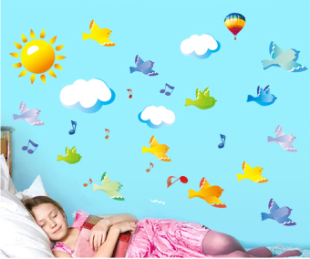 ufengke UF-WL0651 Wall Sticker Multicolor - picture 2