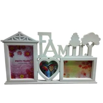 Ultralite 3-picture Collage Family Photo Frame Set