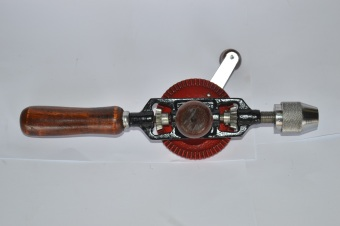 Unbranded Manual Hand Drill 1/4