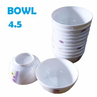 Unibest Melamine Bowl Soup Bowl #6045W 4.5 BOWL Set of 12