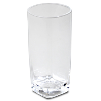Union Glass Tumbler 11oz Set of 12 (Clear) with FREE Thermal Bag - picture 2