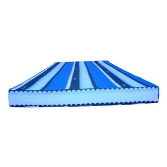 Uratex Mattress with Thin Cotton Cover 4x36x75 (Blue)