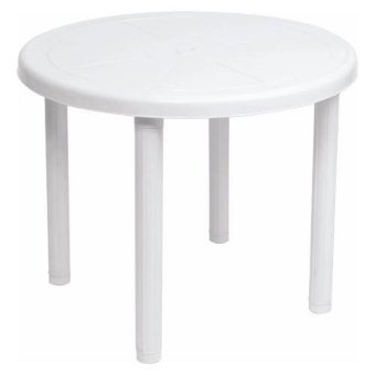 Uratex Round Table (White)