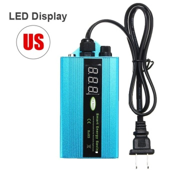 US 50KW 90V-265V Electricity Power Energy Saver LED Saving Box Electricity Saving Killer Up to 35% - intl