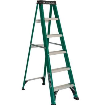 US Louisville Fiberglass Step Ladder 8ft