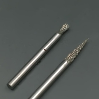 Useful One Set Tungsten Steel Carbide Burrs Die Grinder Drill BitsRotary Tool - intl - 5