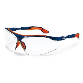 Uvex ANSI Z87.1 I-VO Safety Spectacles Goggles Glasses SportyEyewear (Clear) ANSI