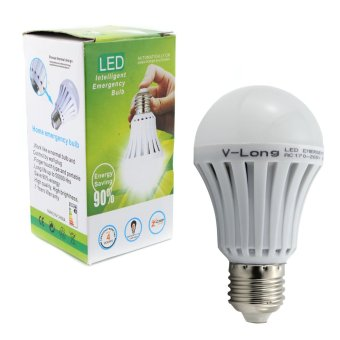 V-Long 7W LED Intelligent Emergency Light Bulb