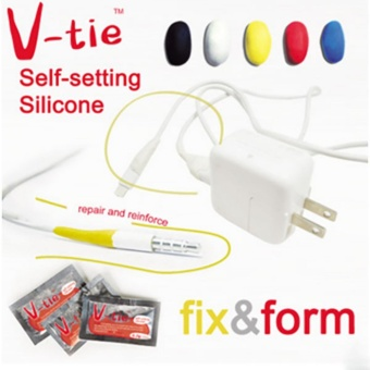 V-Tie Mouldable Glue Classic Color 2 Pieces with the same functionof Sugru - It turns into rubber - intl Price Philippines