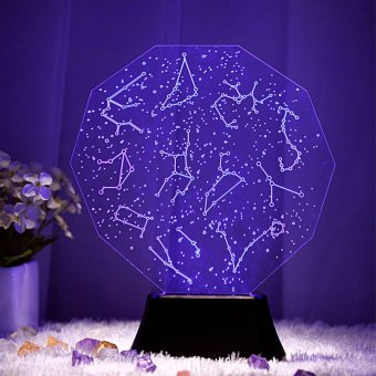 Vast starry sky effect 3D Visual LED Night Light Creative LavaTable Lamp Novelty Lighting