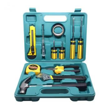 Verygood 12pcs Professional Hardware Tools Set Accessory RepairHome Tool-Box Kits Case Can Used for Car and Bike