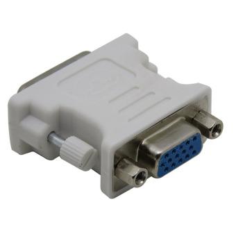 VGA Female 15 Pin to DVI-D 24+5 Pin Male F-M Digital Video AdapterConverter - 2