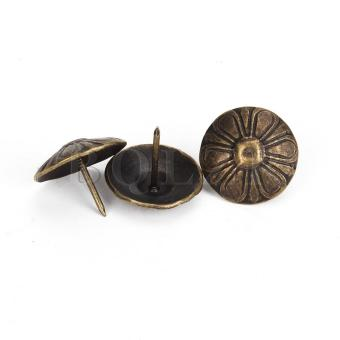 Vintage Iron Nails Set of 100 Bronze - picture 2