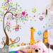 Wall adhesive paper bedroom children's room decorations kindergarten cartoon sticker Wall