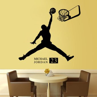 Wall Decals Playing Basketball Boy PVC Wall Stickers - 5
