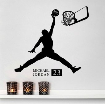 Wall Decals Playing Basketball Boy PVC Wall Stickers - 3