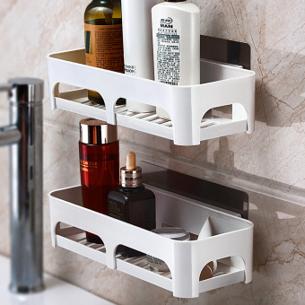Wall hangers suction cup bathroom shelf