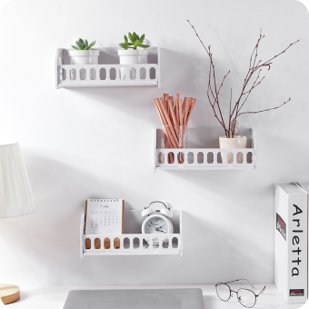 Wall-mounted PVC Storage Rack